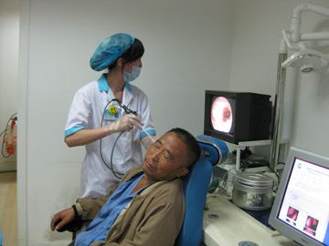 耳鸣,耳鸣案例,耳内窥镜检查