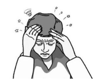 (眩晕的症状:头晕
